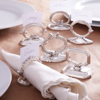 Napkin Ring & Card Holder