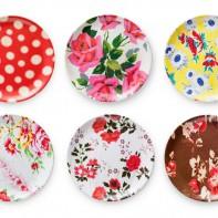 Flea Market Chic Plates