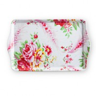 Flea Market Chic Rectangular Tray