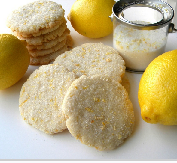 Citrus Sugar Cookies Recipe